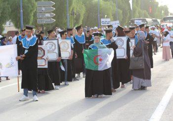 مشاركة جامعة العربي بن مهيدي في احتفالية عيد الاستقلال والشباب 05 جويلية