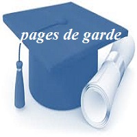 pages de garde fin de cycle License + master