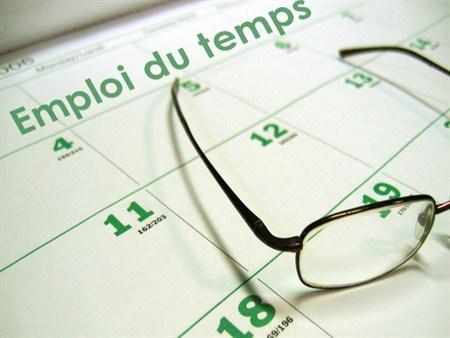 Emploi du Temps deuxième semestre