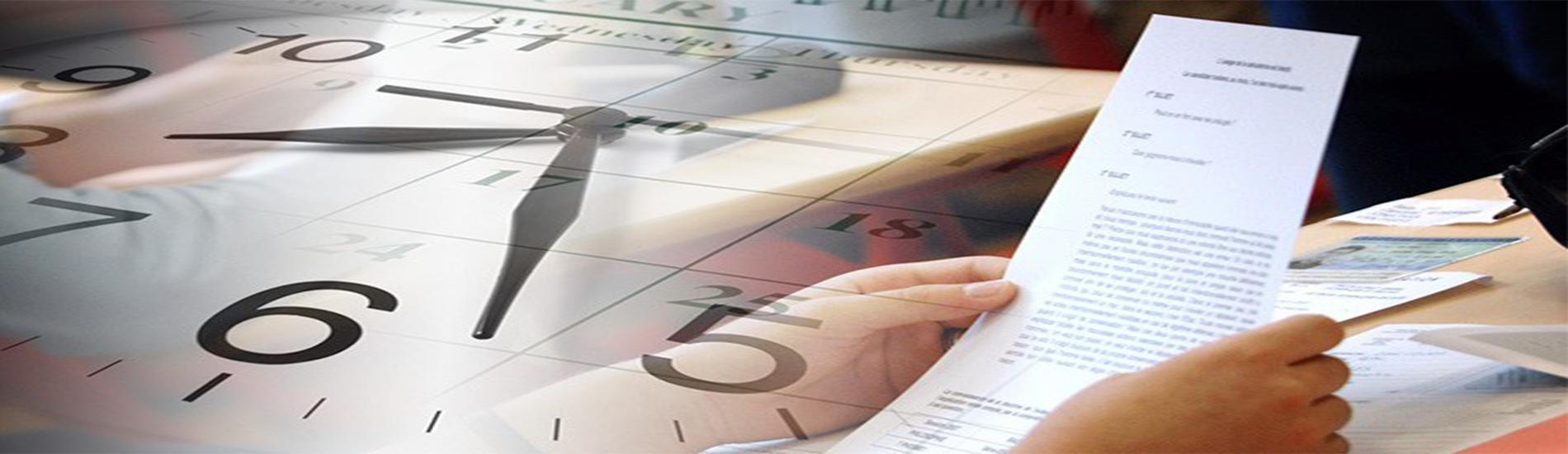 جدول التوقيت الزمني السداسي الثاني 2019 +معاينة إمتحان السداسي الأول