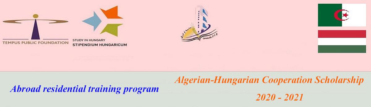 Algerian-Hungarian Scholarship 2020-2021