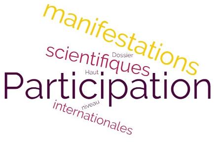 Avis: Dossier de Participation aux manifestations scientifiques internationales de haut niveau (indexées)