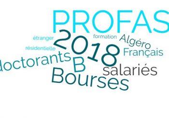 Avis : Appel à candidatures Programme PROFAS B+ 2019-2020