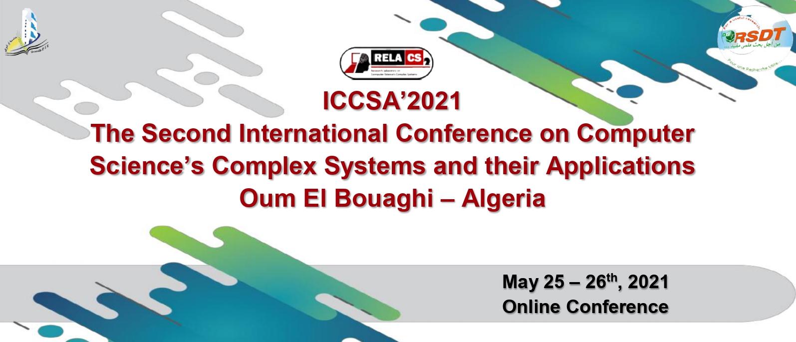 ICCSA'2021