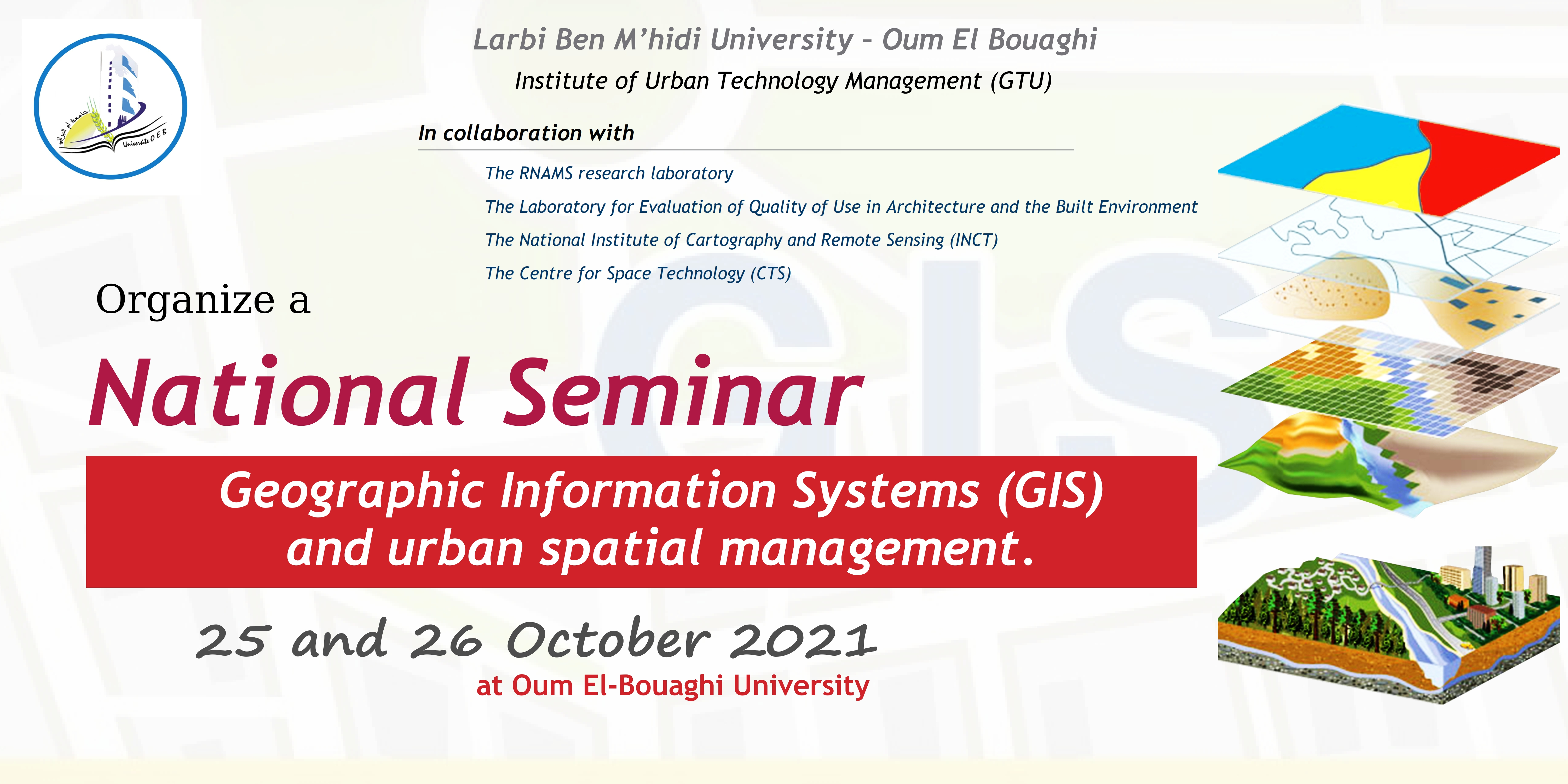 Geographic Information Systems (GIS) and urban spatial management