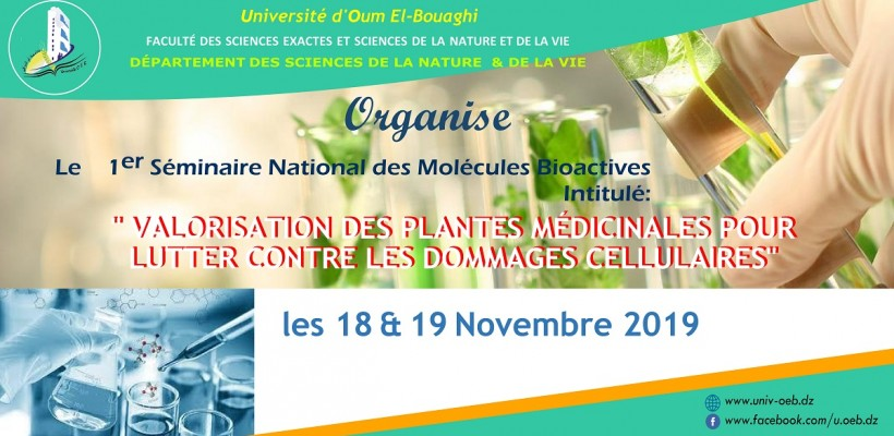 National Seminar of Bioactive Molecules