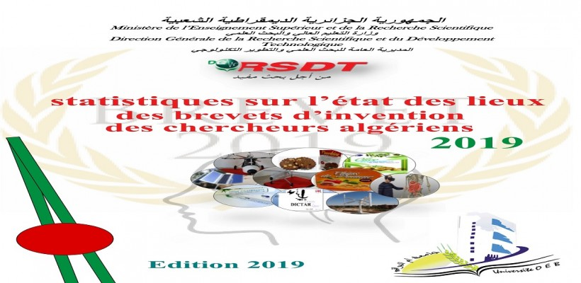 Statistics on the state of patents of Algerian researchers