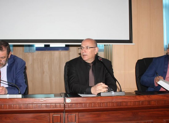 The university rector's meeting with student representatives